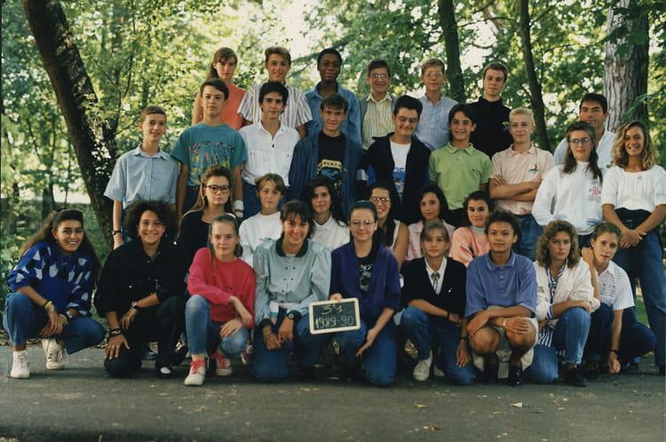 Photo de classe 3eme1 de 1989, Collège Christ-roi Notre-dame-des ...