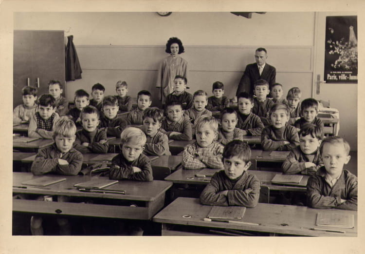 photo de classe 11 ou 10 me primaire de 1960 coll ge henri sellier copains d 39 avant. Black Bedroom Furniture Sets. Home Design Ideas