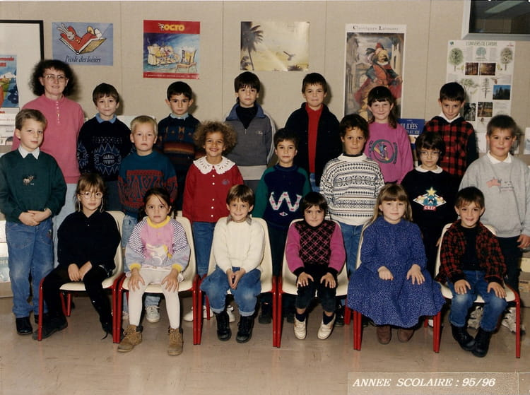 photo de classe cp de 1995 ecole marcel pagnol oucques copains d 39 avant. Black Bedroom Furniture Sets. Home Design Ideas
