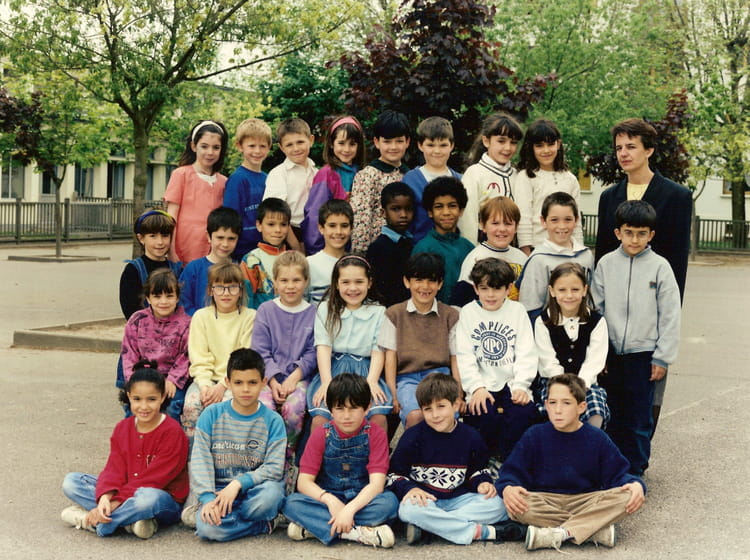 photo de classe ce1 a de 1994 ecole jean jaures sainte genevieve des bois copains d 39 avant. Black Bedroom Furniture Sets. Home Design Ideas