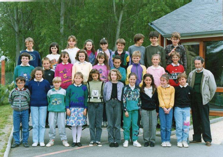 Photo de classe cm2 de 1991 ecole la pleiade la chartre sur le loir copa - La chartres sur le loir ...