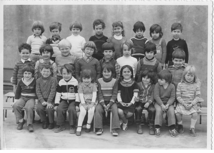 Photo De Classe Maternelle De 1979 Ecole Nissan Lez