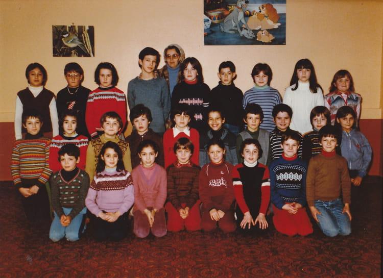 photo de classe cm1 de 1981 ecole sainte marie nemours copains d 39 avant. Black Bedroom Furniture Sets. Home Design Ideas