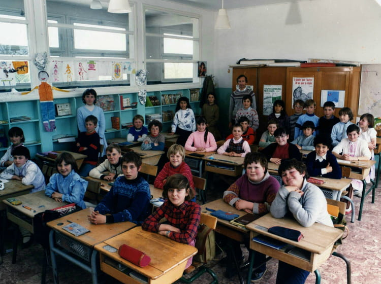 Photo de classe de 1984 ecole du centre ferriere la for Salon grande ecole