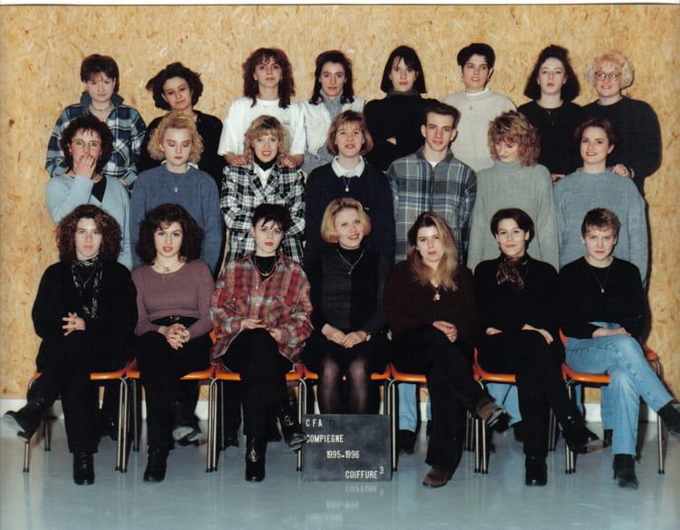 Photo de classe coiffure 3 de 1995 cfa de la chambre de m tiers de l 39 oise annexe de compi gne - Chambre des metiers nogent sur oise ...