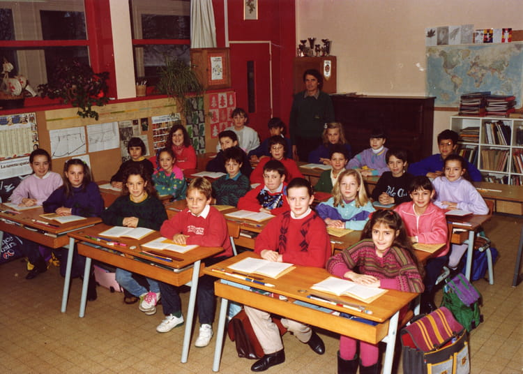 photo de classe cm2 peut etre cm1 de 1989 ecole ferdinand foch rodez copains d 39 avant. Black Bedroom Furniture Sets. Home Design Ideas