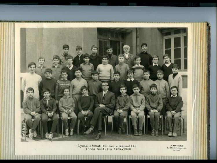 Photo de classe cinqui me a2 de 1968 lyc e p rier - Lycee salon de provence ...