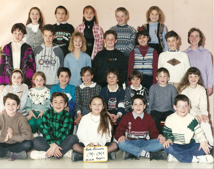 photo de classe cm1 cm2 de 1995 ecole primaire maizieres grande paroiss copains d 39 avant. Black Bedroom Furniture Sets. Home Design Ideas