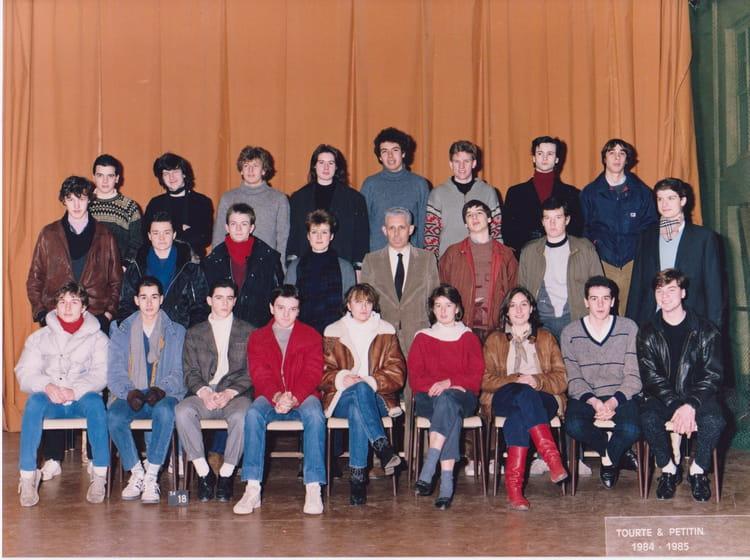 Photo de classe 2 me ann e 84 85 de 1984 ecole for Chambre de commerce de paris formation