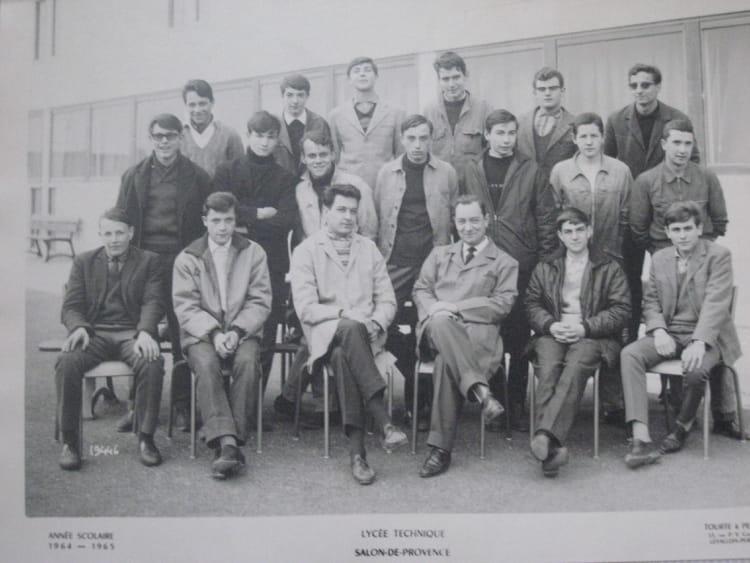 Photo de classe 2 me ann e meca auto de 1964 lyc e - Lycee craponne salon ...