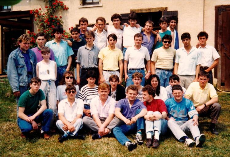 photo de classe btsa tage 1987 1989 de 1989 lyc e agricole rennes le rheu copains d 39 avant. Black Bedroom Furniture Sets. Home Design Ideas