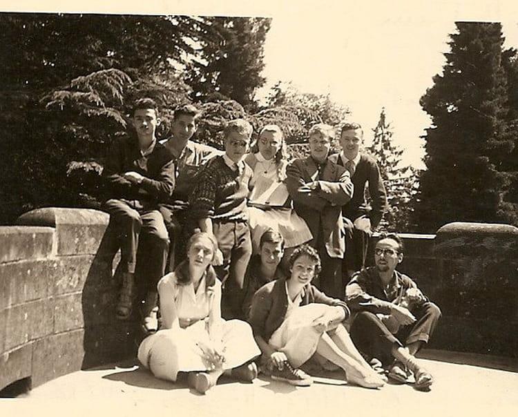 Photo de classe Math Elem College Guebwiller de 1960, Lyc u00e9e Alfred Kastler   Copains d u0026#39;avant