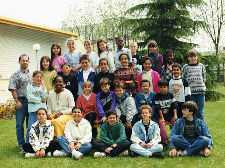 photo de classe cm2 de 1995 ecole les capucins melun copains d 39 avant. Black Bedroom Furniture Sets. Home Design Ideas