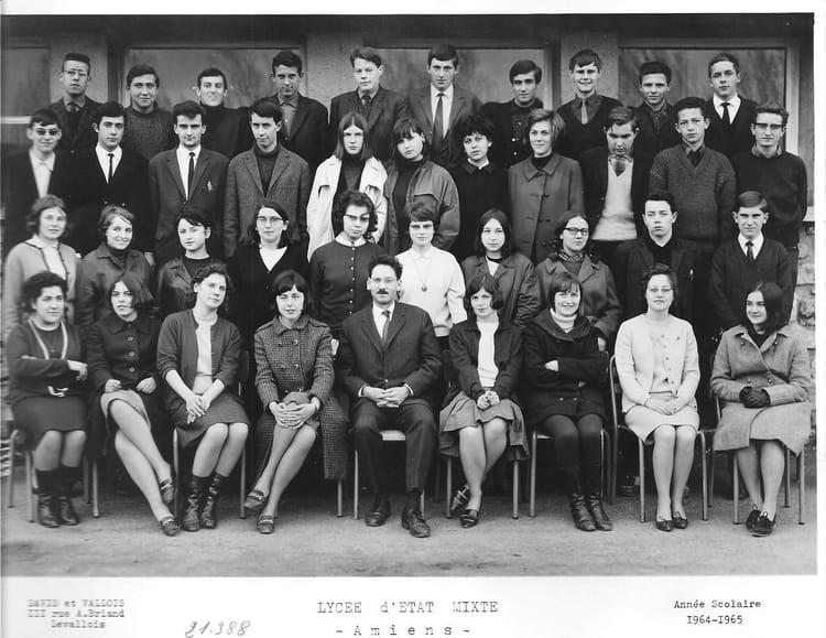 photo de classe 1 reab de 1965 lyc e louis thuillier copains d 39 avant. Black Bedroom Furniture Sets. Home Design Ideas