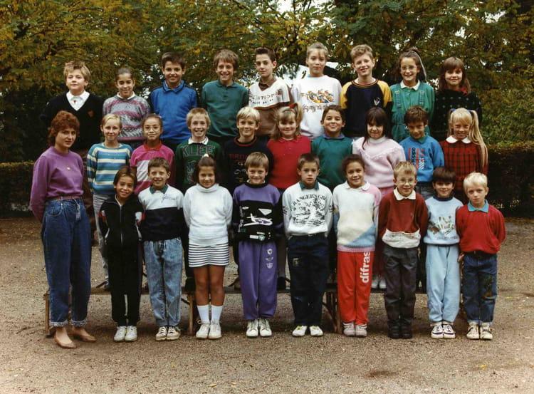 Photo De Classe Cm1 De 1990 Ecole Mairie Jassans Riottier