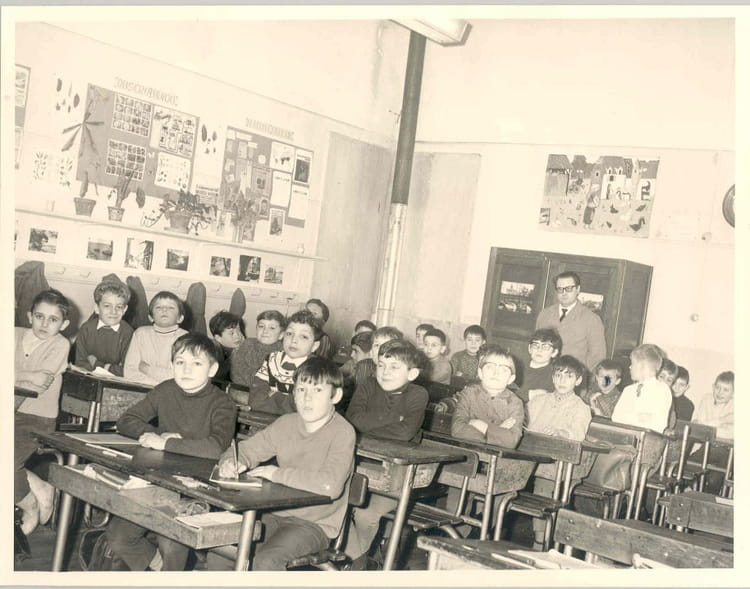 Photo de classe ce2 1967 1968 jean mac drancy de 1967 - Mr bricolage gueret ...