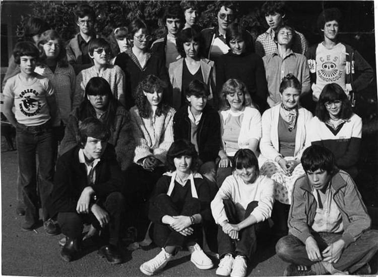 Photo de classe 3 me 2 de 1980 coll ge des quatre terres for Domon plan b