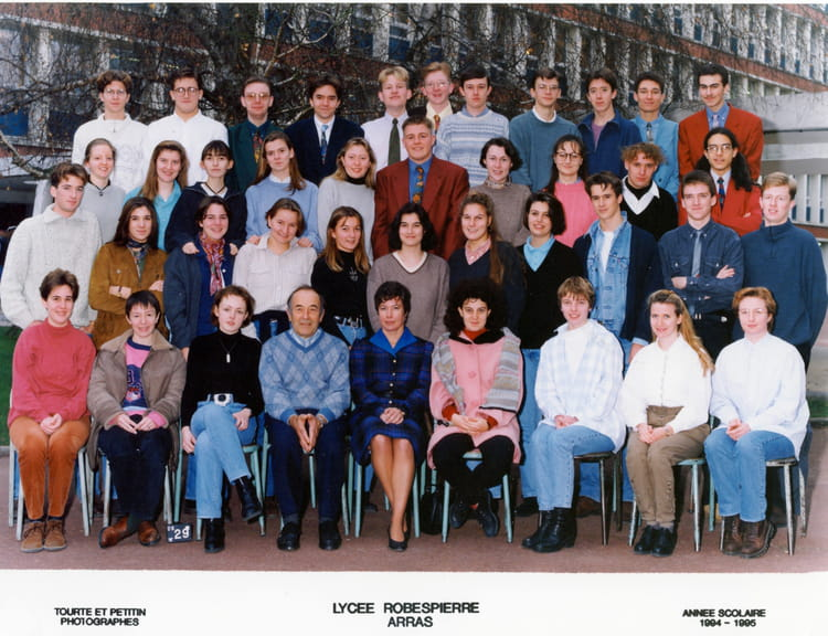 1995 , Prépa Bio , Lycée robespierre
