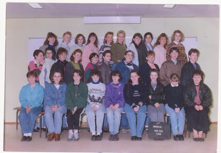 photo de classe 2 vam de 1990 lyc 233 e des deux caps copains d avant