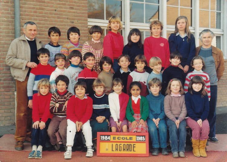 Photo de classe ecole lagarde de 1984 ecole de lagarde for Albefeuille lagarde