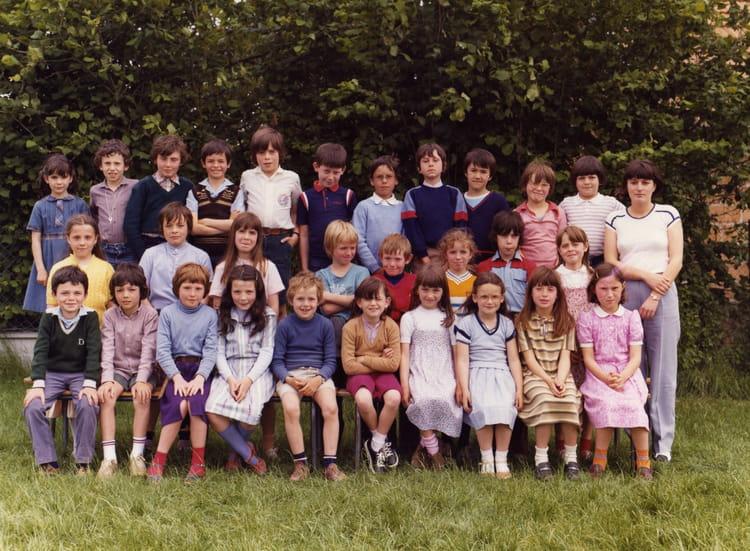 photo de classe cp de 1979 ecole primaire breal sous montfort copains d 39 avant. Black Bedroom Furniture Sets. Home Design Ideas