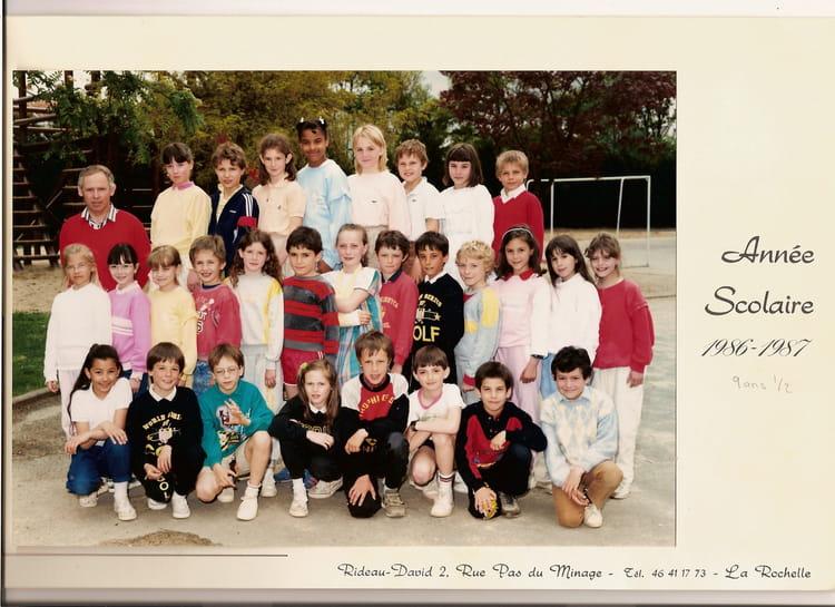 Photo de classe cm1 de 1987 ecole montjoie la roche sur - Cours cuisine la roche sur yon ...
