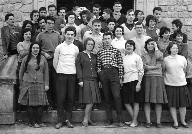 photo de classe stage ufcv 1962 de 1962  ufcv stage