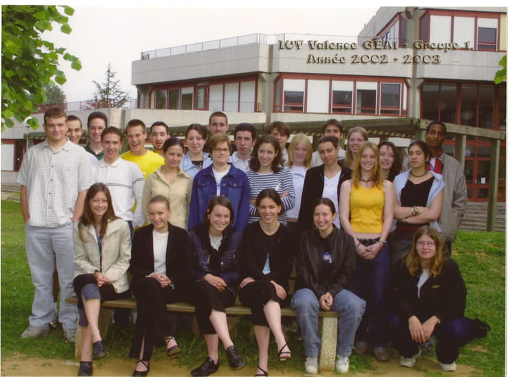 photo de classe dut gea 1 re ann e de 2003 iut de valence