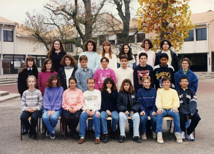 photo de classe 4 232 me1 de 1992 coll 232 ge porte du m 233 doc copains d avant