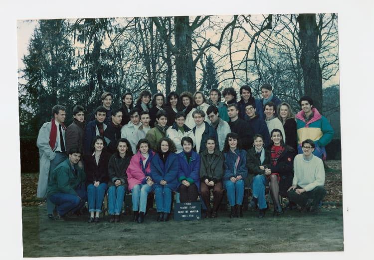 photo de classe tc1 1990 1991 lycee victor duruy mont de marsan de 1991 lyc 233 e victor