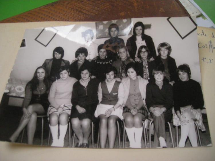 Photo de classe école de coiffure a Toulouse de 1969, Ecole Du ...