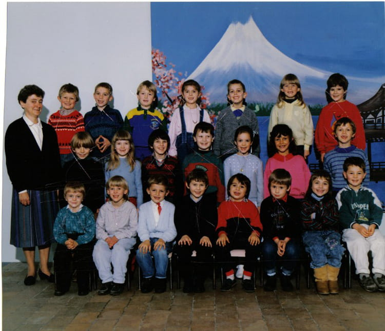 photo de classe cp de 1988 ecole saint amand bailleul. Black Bedroom Furniture Sets. Home Design Ideas