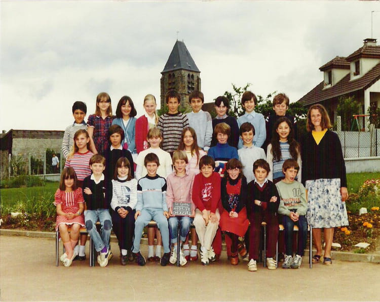 photo de classe cm1 cm2 de 1981 ecole jean bertin gometz la ville copains d 39 avant. Black Bedroom Furniture Sets. Home Design Ideas