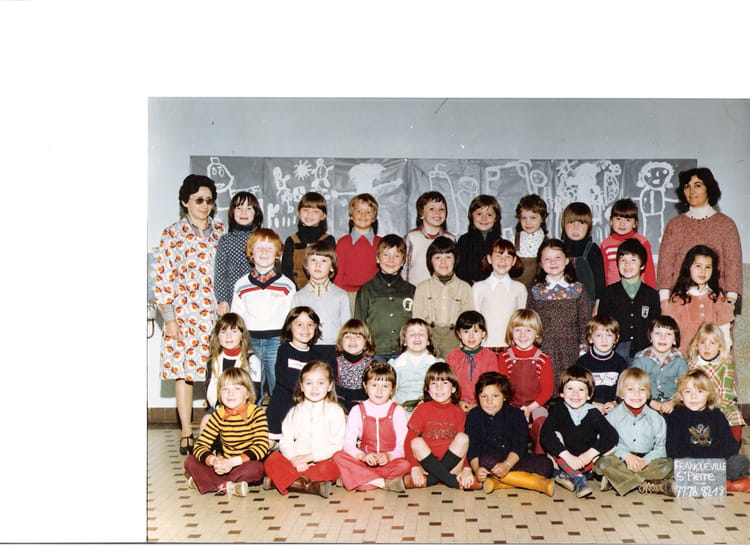photo de classe ecole maternelle louis lemonnier franqueville de 1977 ecole louis lemonnier. Black Bedroom Furniture Sets. Home Design Ideas