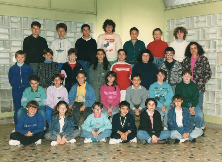 photo de classe 6 ou 5 de 1985 coll 232 ge notre dame de la salle copains d avant