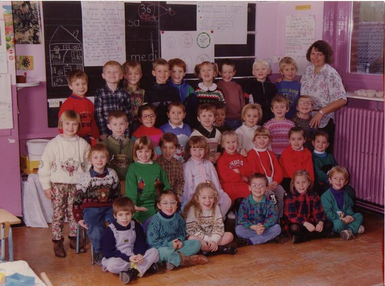 photo de classe maternelle de 1992 ecole jean mace perenchies copains d 39 avant. Black Bedroom Furniture Sets. Home Design Ideas