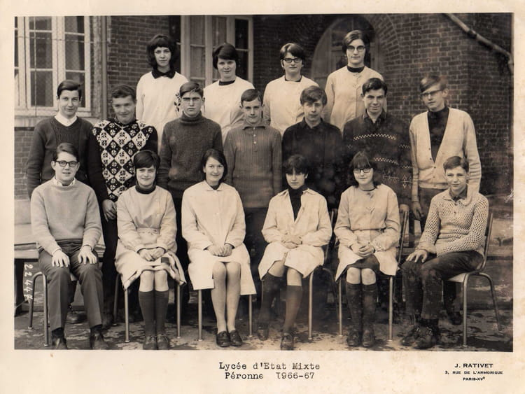 Photo de classe 3 me d 39 accueil de 1967 coll ge b ranger - Beranger prenom ...