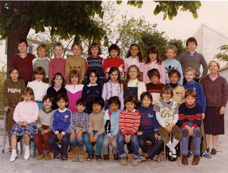photo de classe classe de ce2 de 1981 ecole maurice denis copains d 39 avant. Black Bedroom Furniture Sets. Home Design Ideas