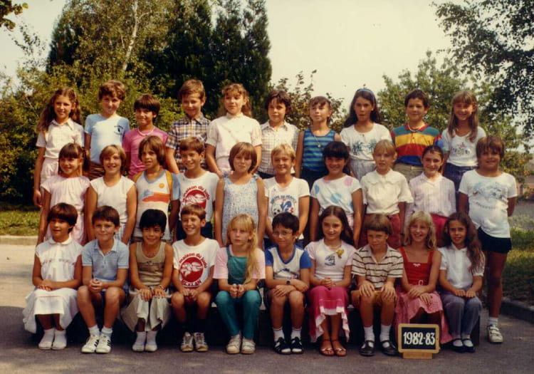 photo de classe cm2 de 1982 ecole la poulatiere saint. Black Bedroom Furniture Sets. Home Design Ideas