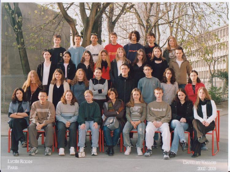 rodin lycée paris