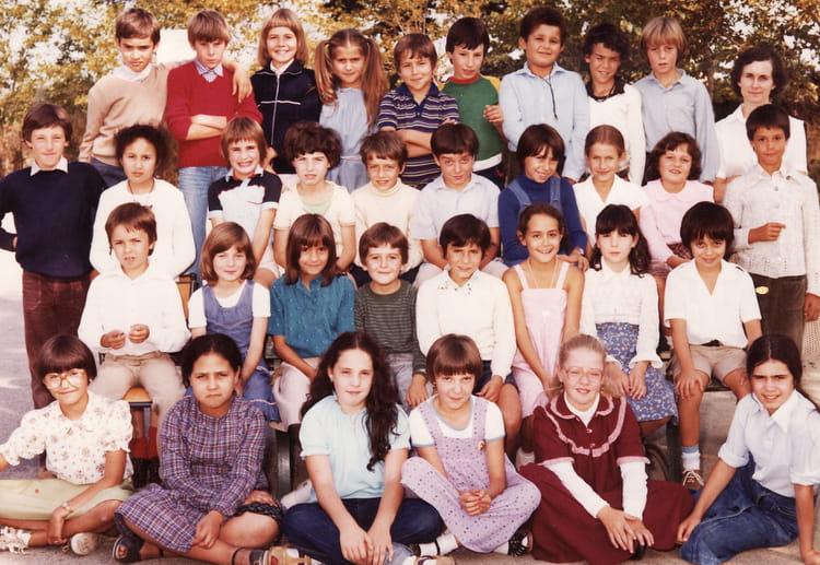 Photo de classe CM1 de 1980, ECOLE BOIS DE LA BARTHE  ~ Ent Bois De La Barthe