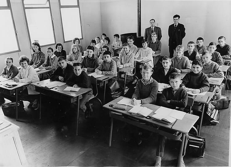 Photo de classe 5 me de 1962 ambroise thomas copains d for A thomas cousins salon