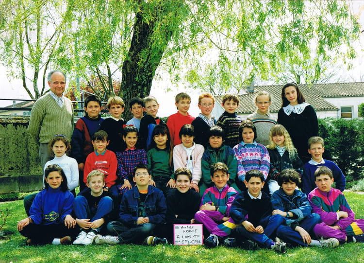 Photo de classe cm1 cm2 de 1991 ecole anatole france - Monsieur bricolage cognac ...