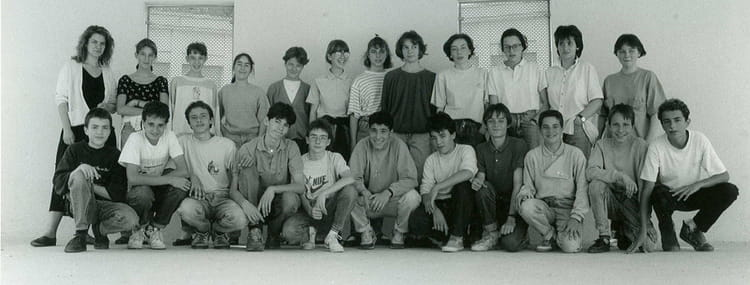 Photo de classe 3 b de 1989 coll ge du jardin des plantes copains d 39 avant - College du jardin des plantes ...