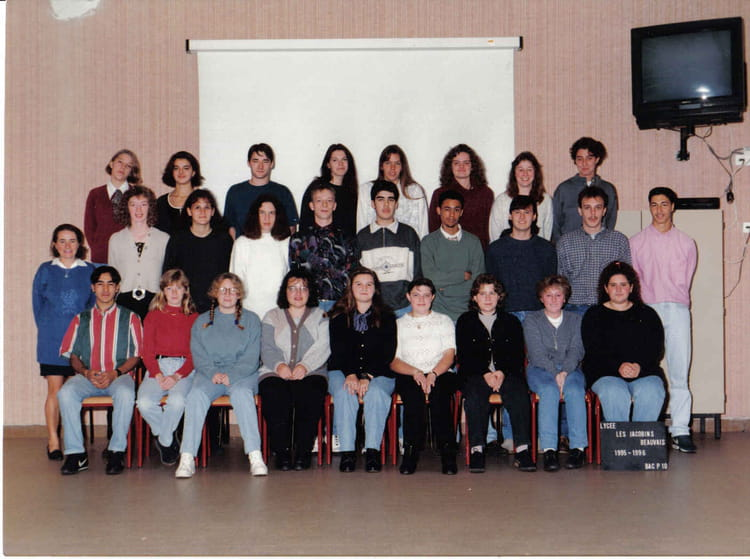 Photo de classe bac pro compta 1 re ann e lp jacobins de - Lycee jacobins beauvais portes ouvertes ...