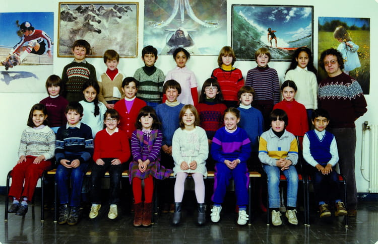 photo de classe ce2 de 1982 ecole le tricot villefranche de rouergue copains d 39 avant. Black Bedroom Furniture Sets. Home Design Ideas
