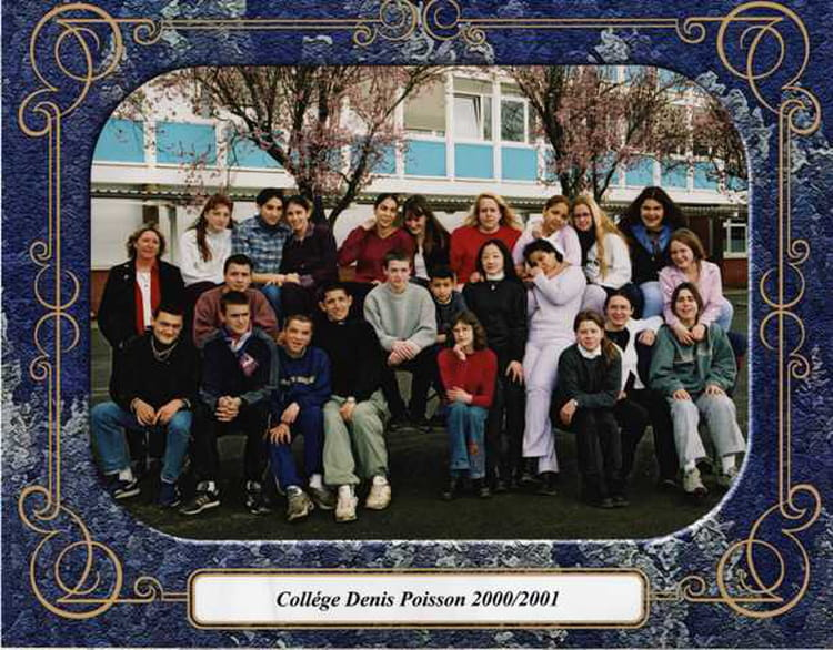 Photo de classe 3 me9 de 2001 coll ge denis poisson copains d 39 avant - Jeux video pithiviers ...