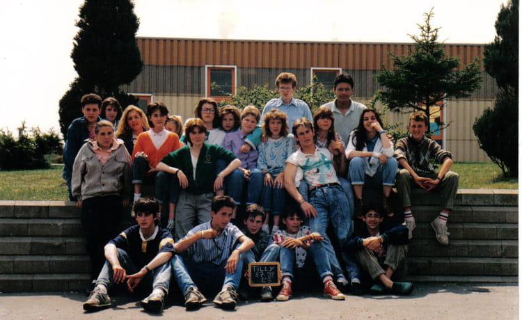 de classe 4ème de 1987, Collège Du Bois Dorceau  Copains davant ~ College Bois D Orceau
