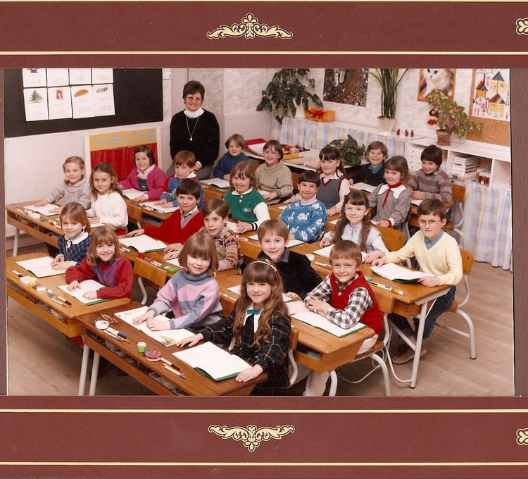 photo de classe cp de 1987 ecole primaire maizieres grande paroiss copains d 39 avant. Black Bedroom Furniture Sets. Home Design Ideas