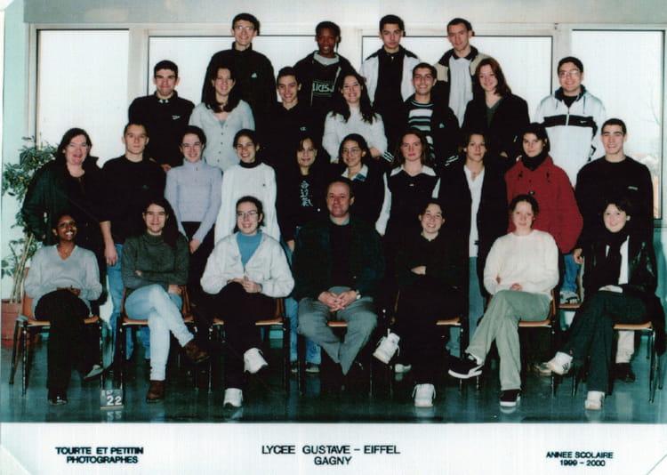 photo de classe 1 re s2 de 1999 lyc e gustave eiffel. Black Bedroom Furniture Sets. Home Design Ideas